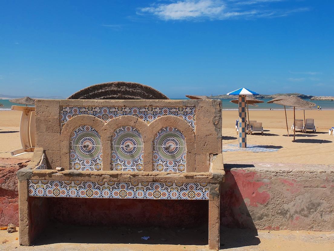 Essaouira, Strand