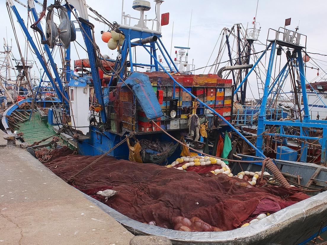 Essaouira, Fischerhafen