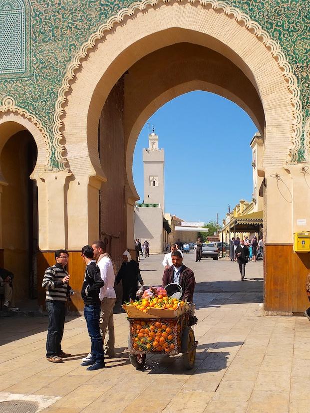 Fes  -  Bab Boujloud
