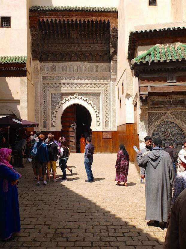 Fes  -  Moschee Karaouine, Nejjarine-Brunnen