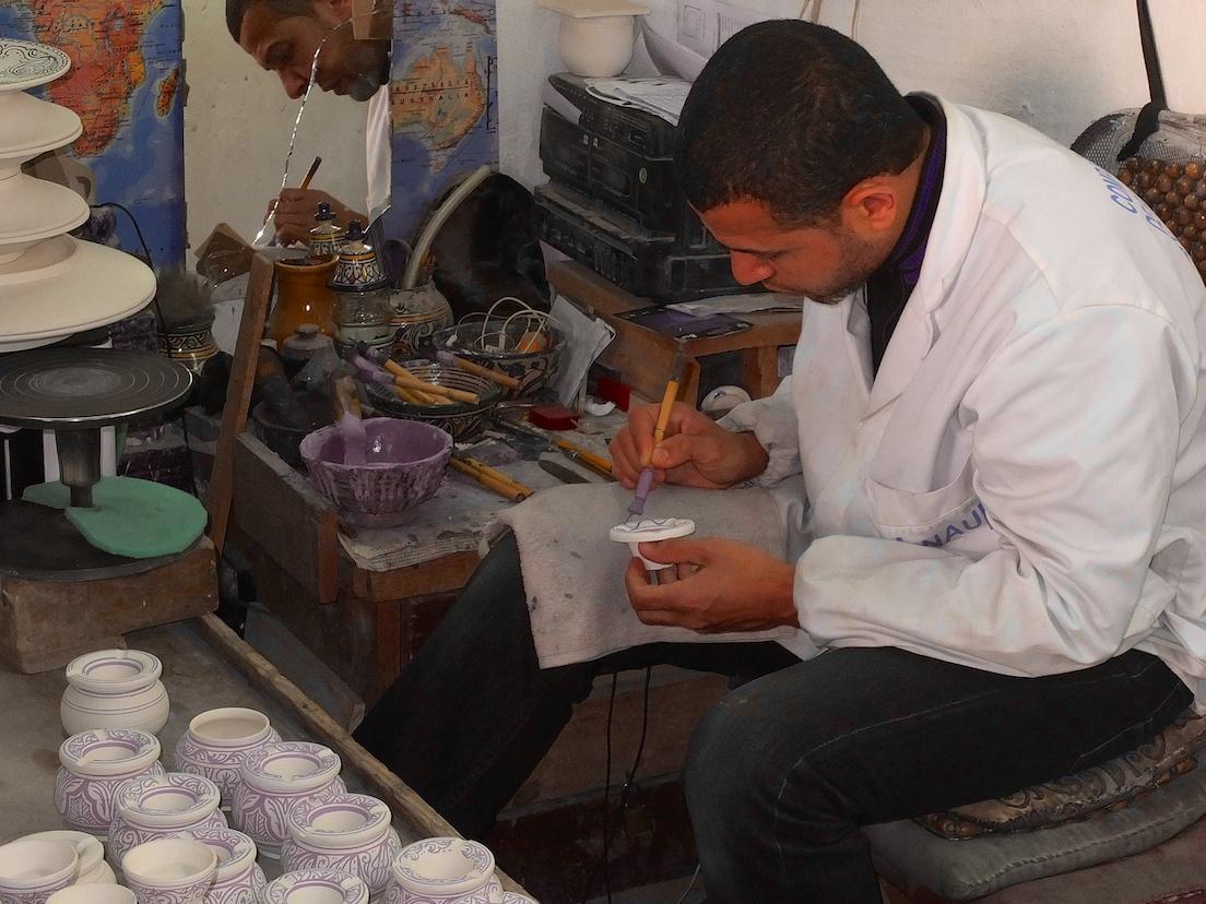 Fes  -  Keramik-Manufaktur