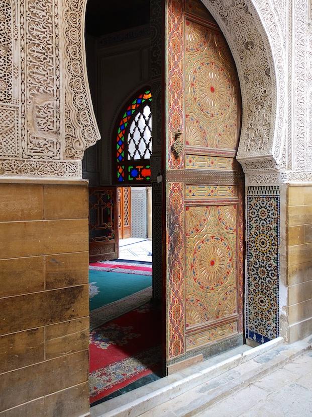 Fes  -  Moschee Sidi Ahmed Tijani