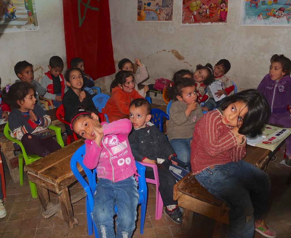 Fes  -  Kindergarten in der Medina