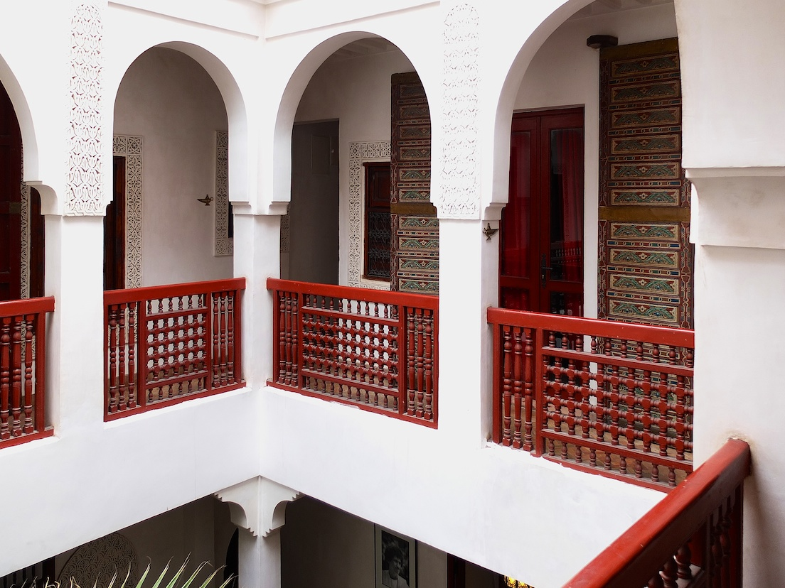 Marrakesch  -  Riad Aladdin