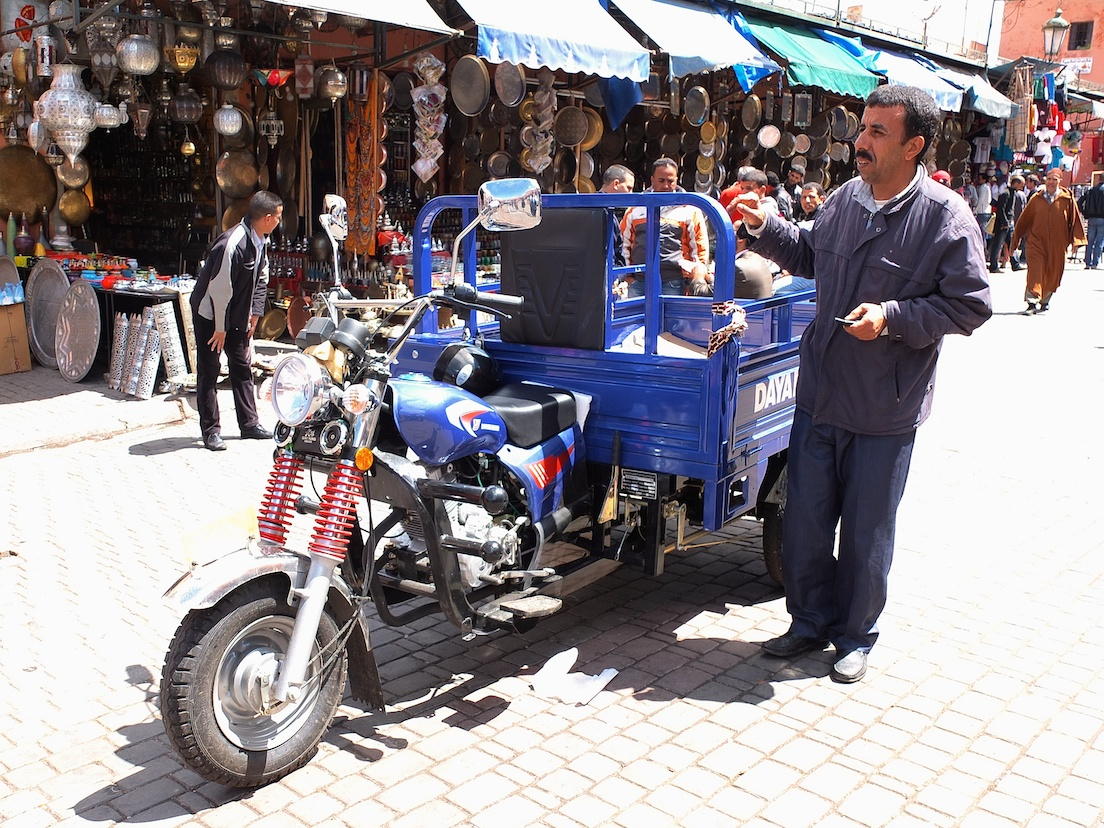 Marrakesch  -  Place Rabba Kédima
