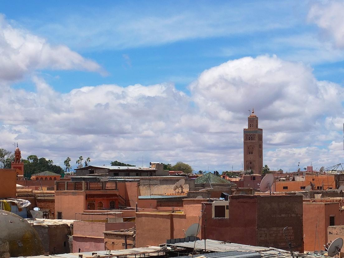 Marrakesch  -  Medina, Moschee Koutoubia