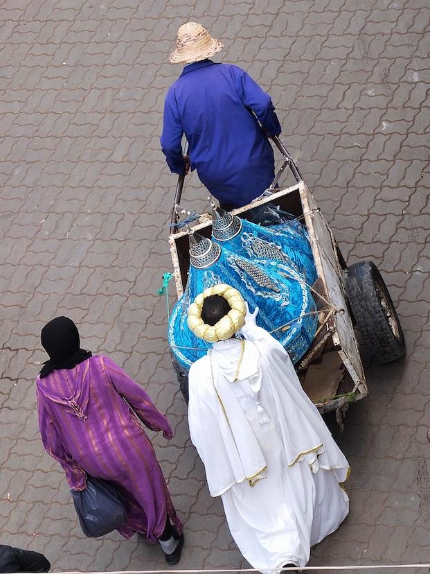 Marrakesch  -  Hochzeitsvorbereitung