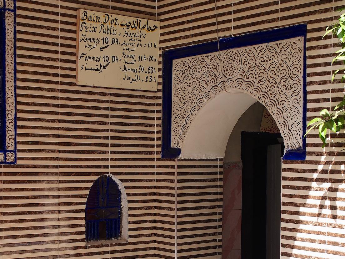 Marrakesch  -  Medina, Hammam