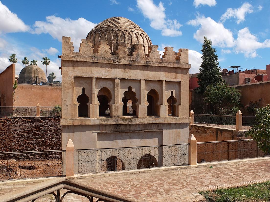 Marrakesch  -  Koubba Almoravide