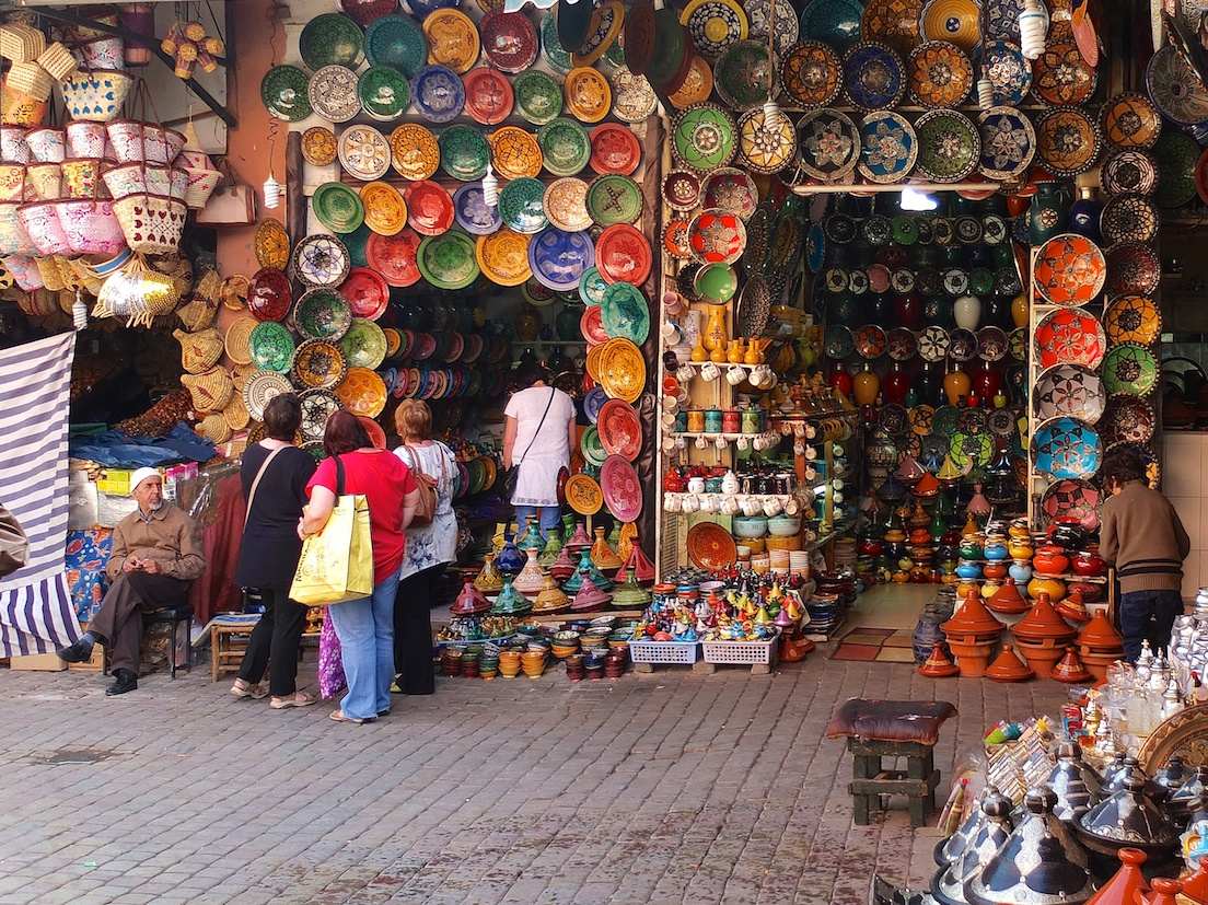 Marrakesch  -  Souk
