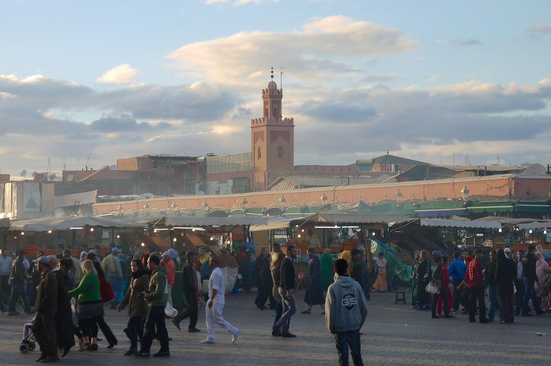 Marrakesch  -  Jemaa El Fnaa