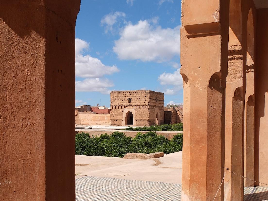 Marrakesch  -  Palais El Badii