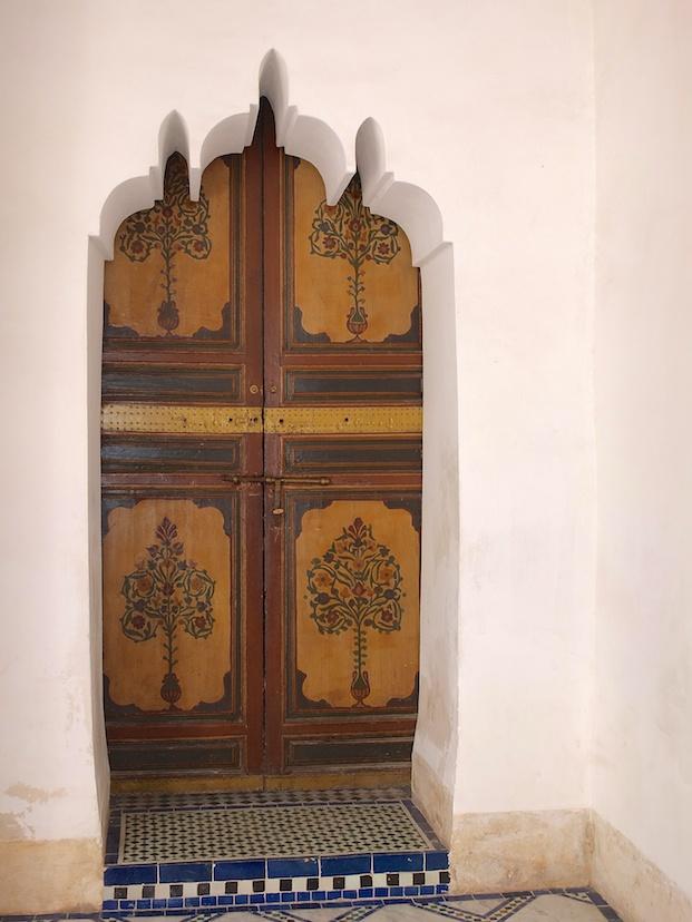 Marrakesch  -  Palais de la Bahia