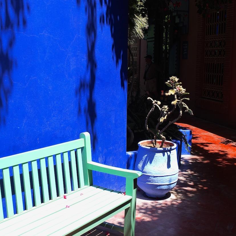 Marrakesch  -  Jardin Majorelle