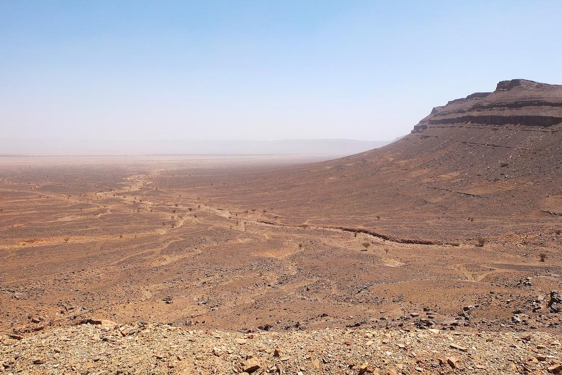 Blick zum Draa-Tal vom Anagam-Pass