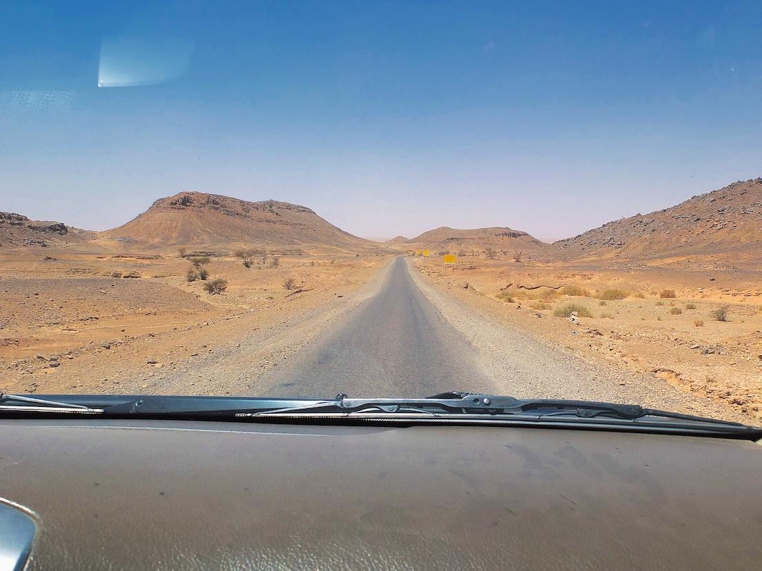 Straße nach Mhamid