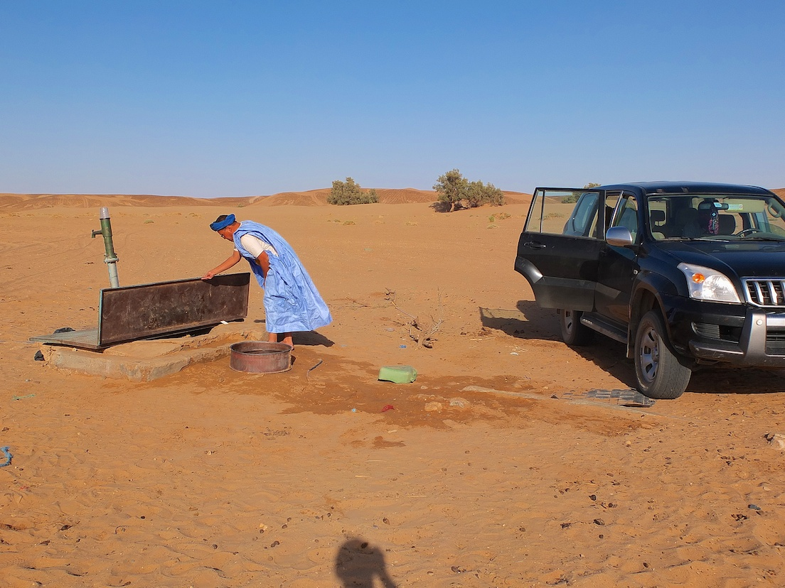 Brunnen in der Sahara